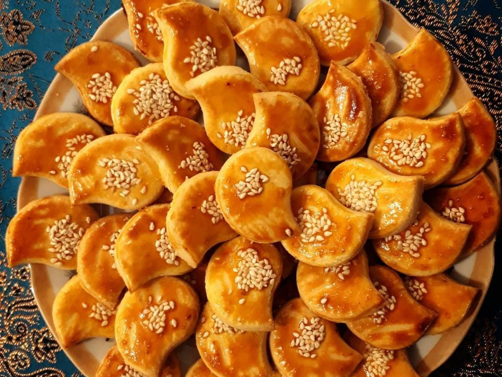 طرز تهیه نان چای قزوین