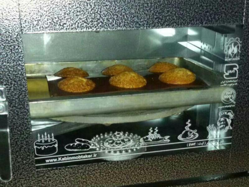 پخت کاپ کیک در تنور مبتکر