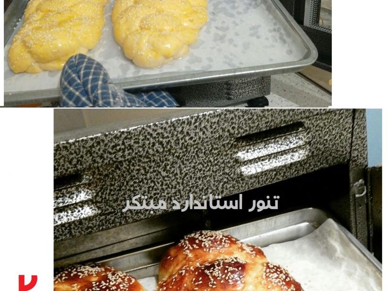 پخت نان گیسو در تنور مبتکر