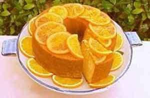 کیک پرتقالی در تنور مبتکر