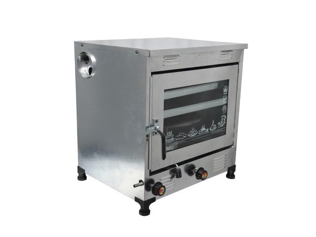 تنور گازی مبتکر گالوانیزه 2 سینی TG-123