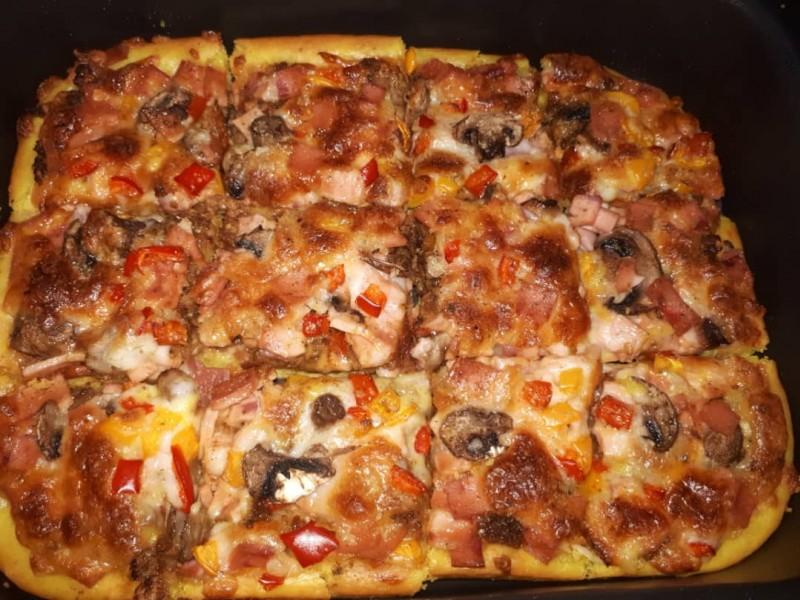 پخت پیتزا در تنور مبتکر