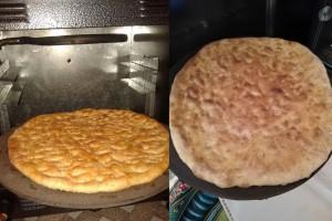 طرز تهیه نان محلی کرسک