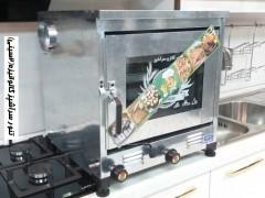 تنور سرآشپز گالوانیزه (2سینی)با جوجه گردان TG229
