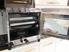 تنور سرآشپز تمام استیل (2سینی)با جوجه گردان TG226