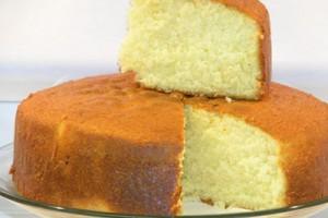 کیک اسفنجی در تنور مبتکر