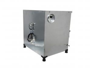 تنور گازی مبتکر گالوانیزه 2 سینی با موتور جوجه گردان TG-123