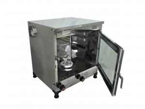 تنور گازی مبتکر تمام استیل 2 سینی با جوجه گردان TG-121