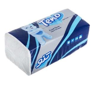 دستمال کاغذی دولایه ۲۵۰ برگ تنو
