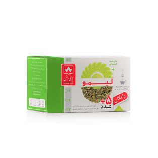 چای سبز با لیمو دبش بسته 25 عددی