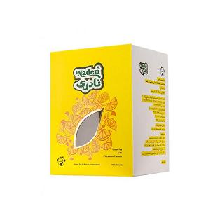 چای سبز مخصوص و لیمو نادری بسته 200 گرمی