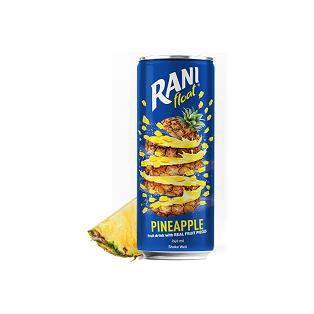 نوشیدنی آناناس با تکه های میوه رانی - 240 میلی لیتر