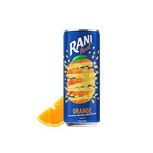 نوشیدنی پرتقال با تکه های میوه رانی - 240 میلی لیتر