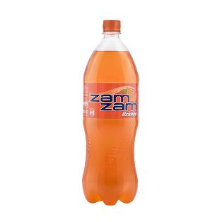 نوشابه پرتقالی 1.5 لیتری زمزم