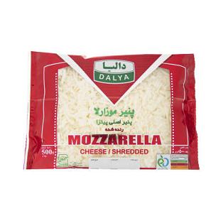 پنیر موزارلا رنده شده دالیا 500گرمی
