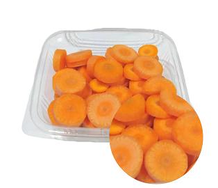 هویج خرد شده (حلقه ای)