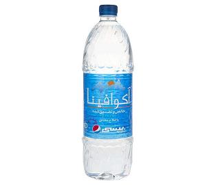 آب معدنی آکوافینا 1.5 لیتری