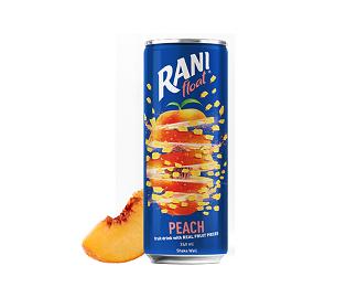 نوشیدنی هلو با تکه های میوه رانی - 240 میلی لیتر