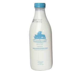 شیر سنتی پر چرب ماهشام