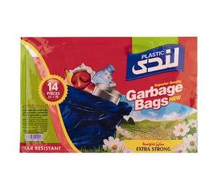 کیسه زباله 14 عددی سایز متوسط 70*55