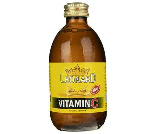 نوشابه انرژی زا ویتامین سی لئونارد