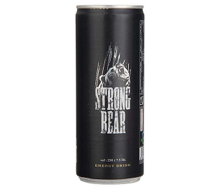 نوشابه انرژی زا گاز دار استرانگ بر - Strong Bear
