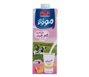 شیر کم چرب مووو یک لیتر