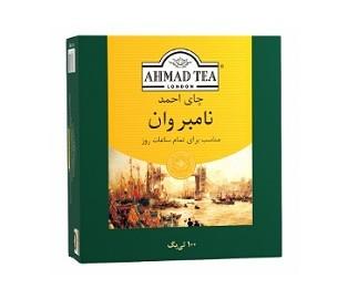 چای کیسه ای نامبر وان احمد ۱۰۰عددی