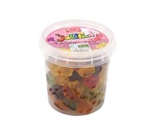 پاستیل سطلی جلیفان باطعم میوه شیرین عسل100گرمی