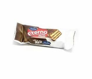 اترنو ویفر کِرِم کاکائویی روکش فرآورده کاکائویی مینی شونیز