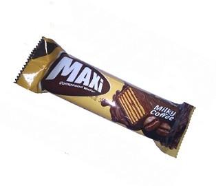 ویفر شکلاتی با طعم قهوه Maxi