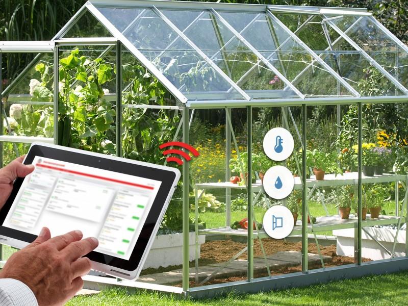 هوشمند سازی گلخانه با هزینه کم