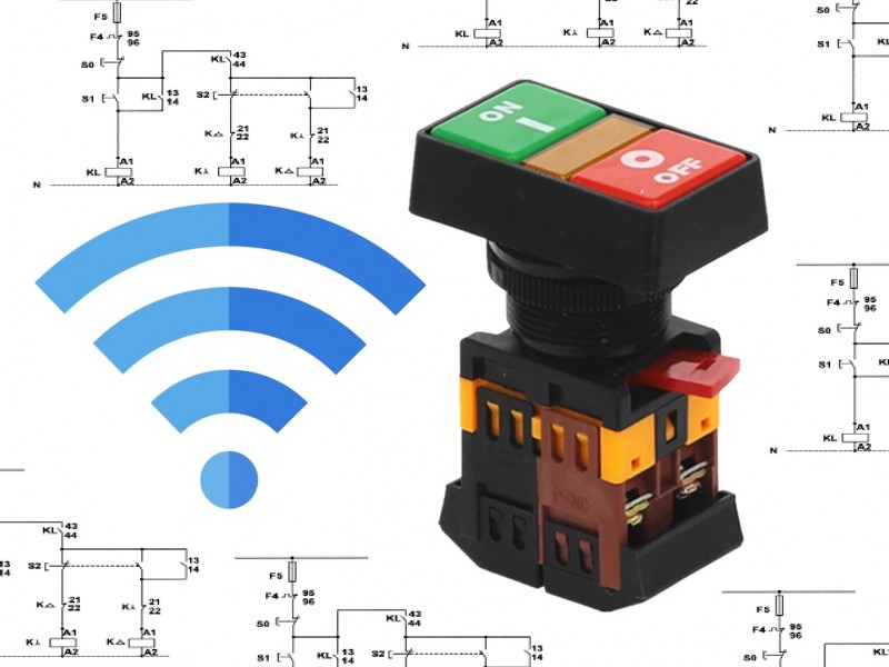 مدار فرمان کنترل چاه با SMS