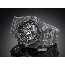 ساعت مچی عقربه ای مردانه کاسیو جی شاک مدل GA-100CM-8ADR