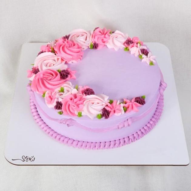 کیک خامه ای کد225