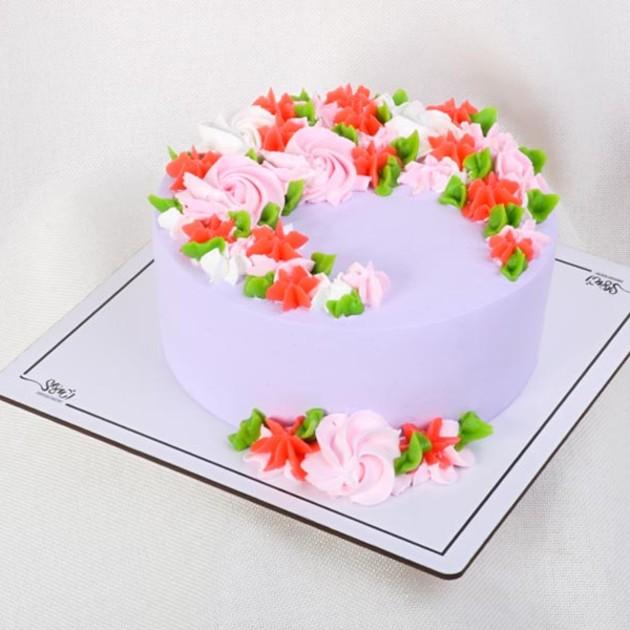 کیک خامه ای کد335