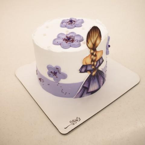 کیک خامه دختر6