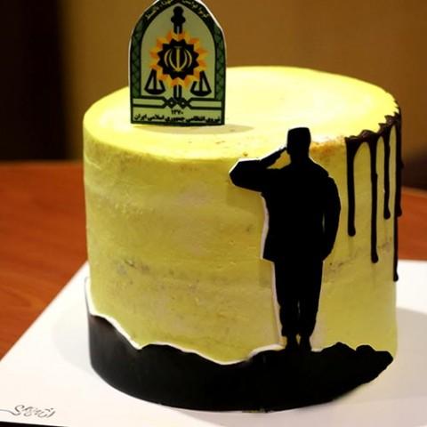کیک نیروی انتظامی