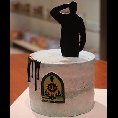 کیک نیروی انتظامی کد 2