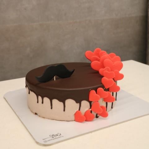 کیک شکلاتی مردانه