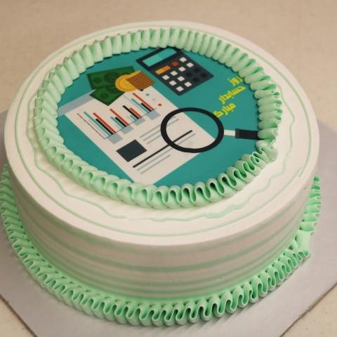 کیک روز حسابدار