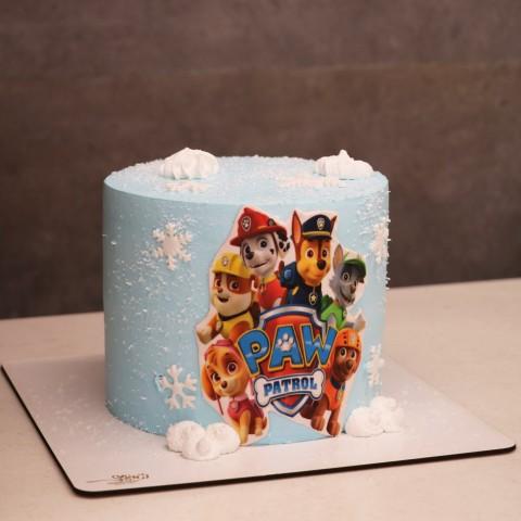 کیک سگهای نگهبان ارتفاع دار