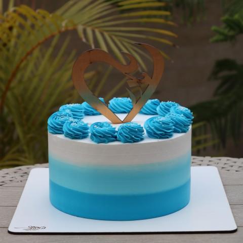 کیک روز مادر با تاپر کد2