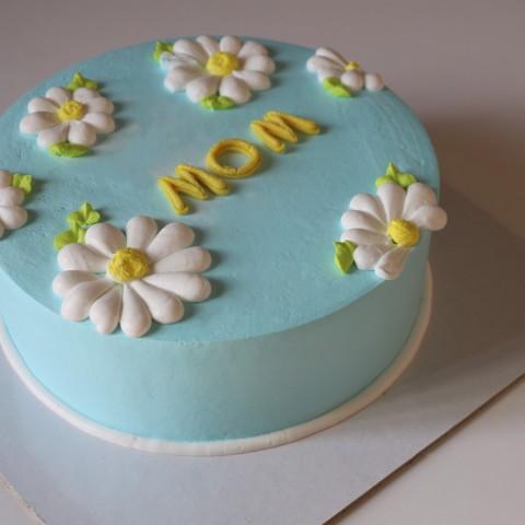 کیک خامه ای روز مادر کد3