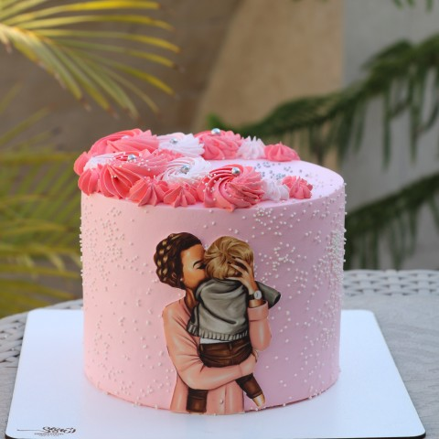 کیک روز مادر -تصویری کد1