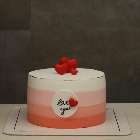 کیک love you