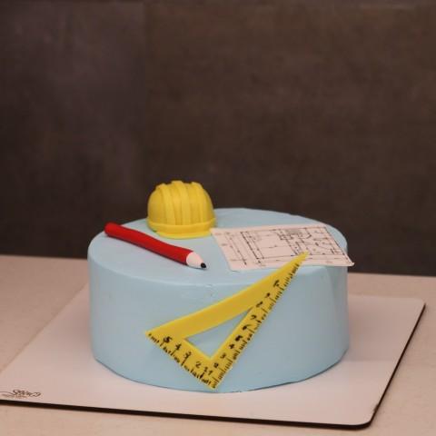 کیک روز مهندس -عمران-معماری-ساختمان