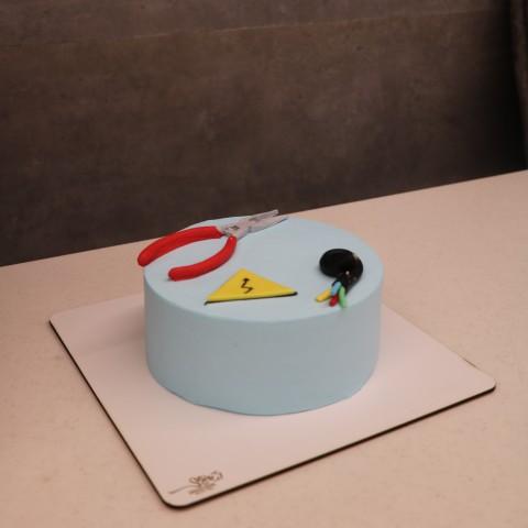 کیک روز مهندس -برق