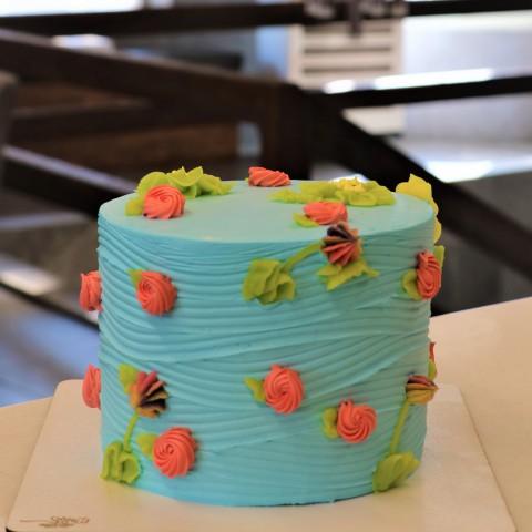 کیک خامه بهاری