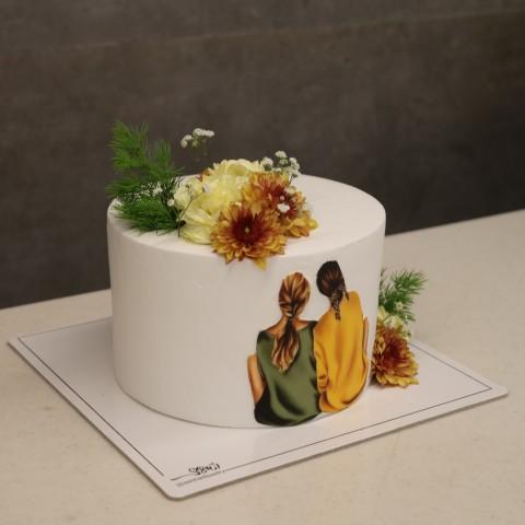 کیک دوستی